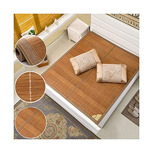 ESGT Colchoneta de bambú para Dormir de Verano Ropa de Cama Plegable para Dormir, Dormitorio de Estudiantes, Familia - Cama para niños