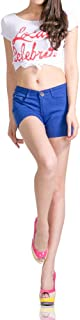 Demon&Hunter 823 Series Mujer Pantalones Vaqueros Corto Shorts