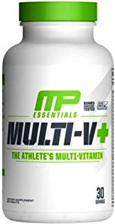 MusclePharm, Essentials, Multi-V Multi-Vitamin, 60 Tablets