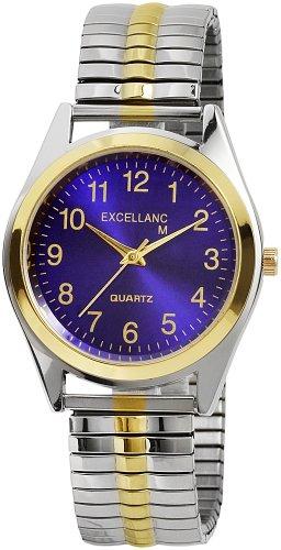 Excellanc Herren-Uhren mit Metallzugband 270013000008