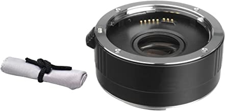 Nikon D3100 2x Teleconverter (4 Elements) + Nwv Direct Microfiber Cleaning Cloth.
