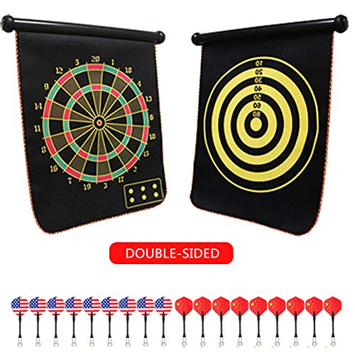 Cheapest Price! Magnetic Dart, Magnetic Dart Board for Children and Adults, Best Children's Toy Gift...