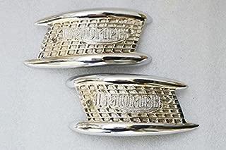 RS Vintage Parts EBY0139 Triumph Tank Badge Pair 3Ta/5Ta/T100/T120 1957 - 1966 - Best Quality