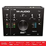 M-Audio AIR 192|8 - 2-In 4-Out USB Audio / MIDI Interface with Recording Software from Pro-Tools & Ableton Live, Plus Studio-Grade FX & Instruments