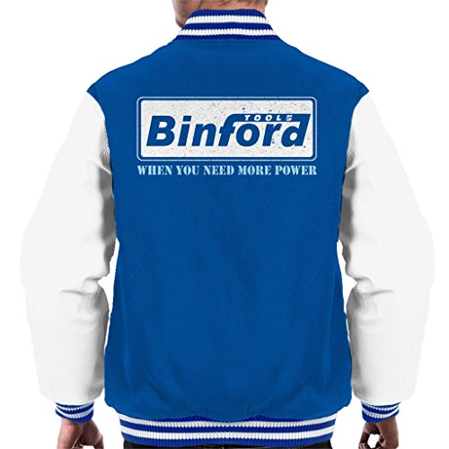 Binford Tools Home Improvement Men's Varsity Jacket