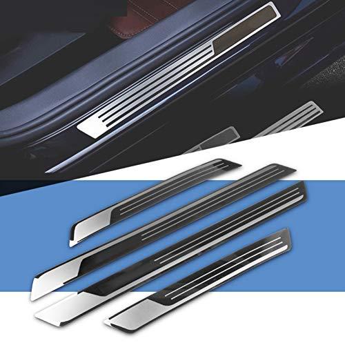 NA Einstiegsleisten & Türschweller Limousine Türschwelle Auto Styling Umfasst Streifen Willkommenspedal Trim Auto Zubehör, Für Vw Passat B7