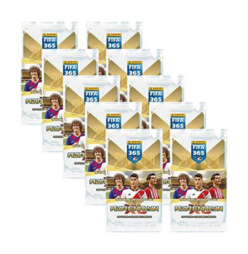 Adrenalyn XL FIFA 365 2020 Panini Trading Card - 10 Booster