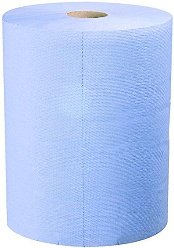 Carsystem Car Clean Triple Blue papieren poetsdoek 500 scheuren 36 x 36 cm
