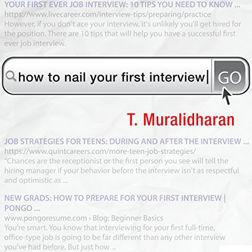 How to Nail Your First Interview (Rupa Quick Reads) Titelbild