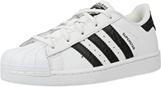 Superstar White/Black Leather Junior Trainers Shoes