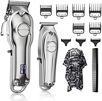 Suprent Cordless Professional Hair Cutting Kit & T-Blade Trimmer Kit