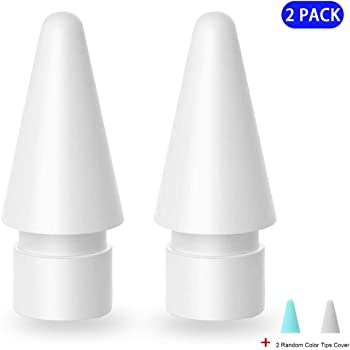 Amazon Com Klearlook Replacement Tip For I Pad Pencil 2 Pack Pencil Tips Ipencil Nib For I Pad Pencil 1st And 2nd Generation I Pad Air I Pad Mini I Pad Pro Series Screen Protector