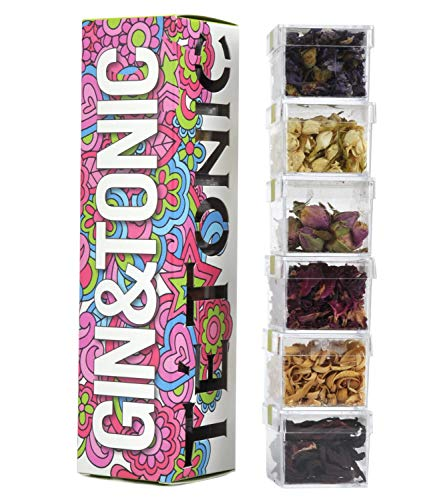 Edición Especial Flower Power Colección de Flores exóticas para Gin & Tonic