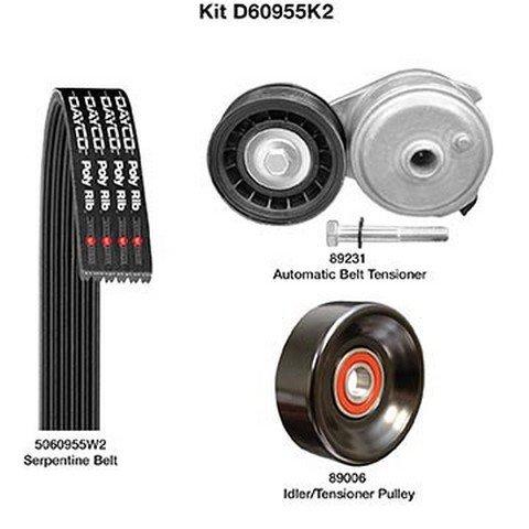 Dayco Demanding Drive Super sale period Tulsa Mall limited D60955K2 Kit