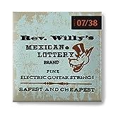Saiten Dunlop RWN0738 Extra leicht 07-38 R.Willy