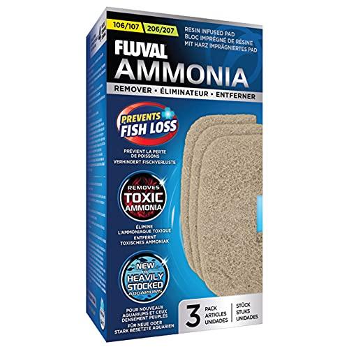 Fluval Ammonia Remover 107/207 Pompes/Filtres/Accessoires pour Pompes à Eau pour Aquariophilie