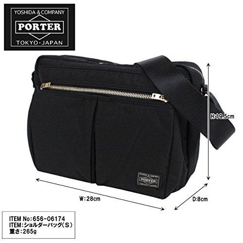 ポーター(PORTER)吉田カバンポータードラフトショルダーバッグS(656-06174)【ブラック10/**】