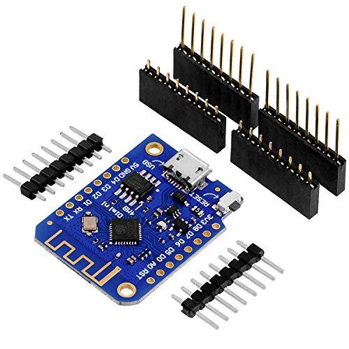 AZDelivery D1 Mini V3 NodeMCU ESP8266EX WLAN Modul kompatibel mit Arduino inklusive E-Book!
