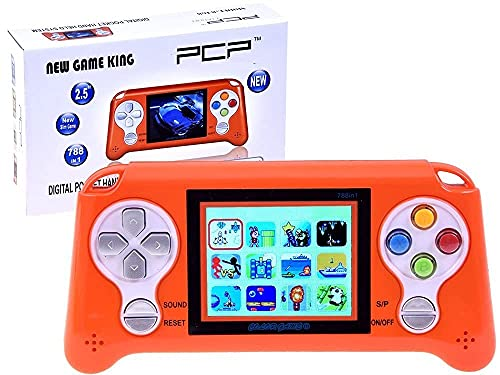 Kandle Advance 268 in 1 Super Handheld Game Console, Classic Retro Video Game, Colourful LCD Screen, Portable 8 bit Game Console, Best Gift for Kids(Colour as per Availability)