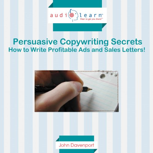 Persuasive Copywriting Secrets audiobook cover art