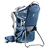 Deuter Kid Comfort Active (Standard Fit) Child Carrier and Backpack - Midnight (Standard Fit)