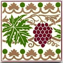 product image for Decorative BACKSPLASH Tile, Victorian Tile, Victorian Wall Plaque, Victorian Trivet VT-6