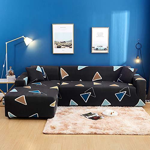 NOBCE Funda elástica para sofá de algodón, Funda elástica con Todo Incluido, Funda para sofá, Toalla, Funda para sofá para Sala de Estar 195-230CM