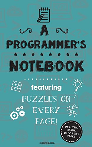 A Programmer's Notebook: Featuring 100 puzzles