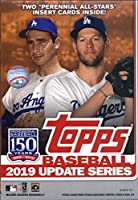 2019 Topps Update Baseball Hanger Box (67 Cards, 2 Perennial All-stars)