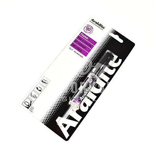 Araldite® Dos parte epoxi 3G jeringa Fusion listo para usar fuerte pegamento adhesivo