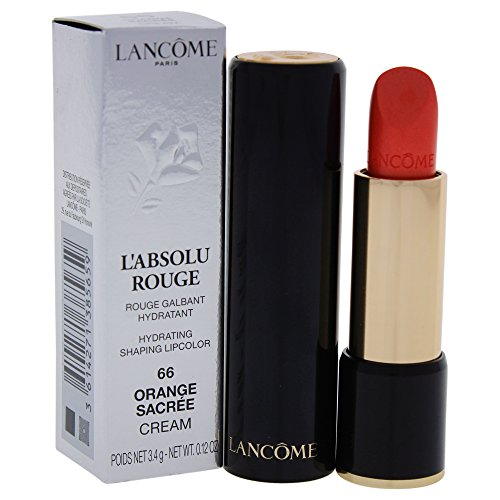 Lancome L'Absolu Rouge Cream 66 Orange Sacree