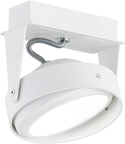 Argon Phare moderne 1 ampoule en acier laqué Blanc