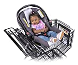 Totes Babies Shopping Cart Car Seat Carrier for Baby Newborns Infants Toddlers | Designed for Safety, Comfort, Convenience & Easy Interaction with Baby | As Seen on Shark Tank