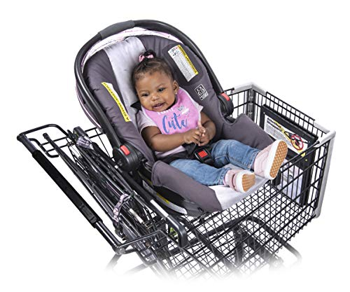 Totes Babies Shopping Cart Car Seat Carrier for Baby Newborns Infants...