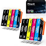 Timink 364 XL Cartuchos de Tinta Reemplazo de HP 364 XL Compatibles con HP Deskjet 3070A 3520 3524 Officejet 4610 4620 4622 Photosmart 5510 5511 5512 5520 5522 6512 6515 6520 (10 Paquetes)