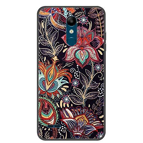 Hongjian Funda para LG K11 Phone TPU Soft Silicone Case Cover 12