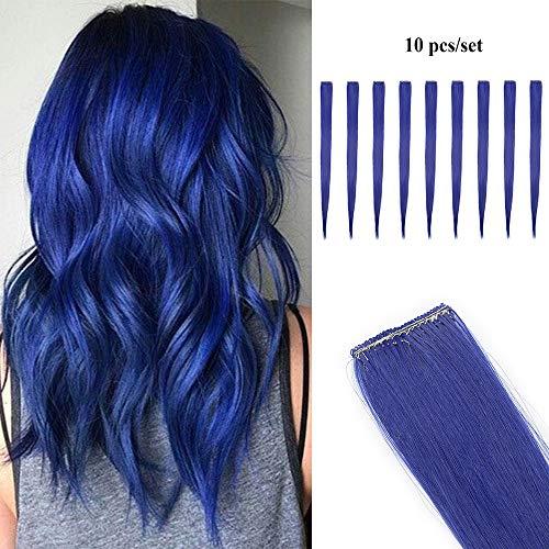 comprar pelucas azul natural