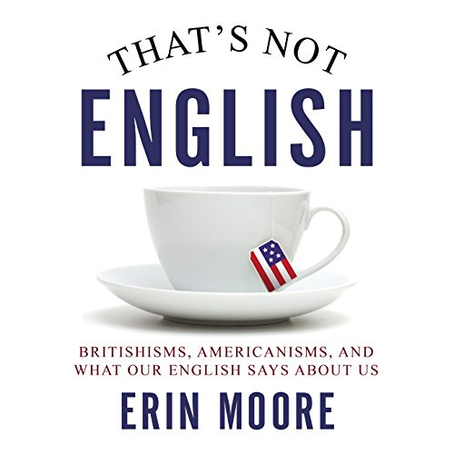 That's Not English audiobook cover art