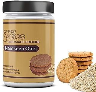 Healthy Oaties Cookies Handmade Namkeen Oats Cookies -280 Gms