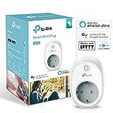 TP-Link HS100 - Enchufe inteligente para controlar sus dispositivos desde cualquier lugar, sin necesidad de concentrador, funciona con Amazon...
