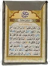 SURAH CARDS - Sajdah, Yaseen, Fatah, Rehman, Waqiyah, Mulk, Muzammil