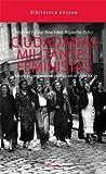 Ciudadanas Militantes Feministas (Ensayo) de Angeles Egido (20 may 2011) Tapa blanda