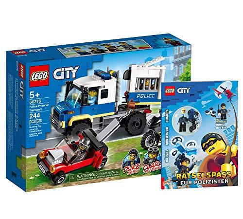 Lego 60276 - Juego de transporte de prisioneros (cubierta blanda), diseño de Lego City