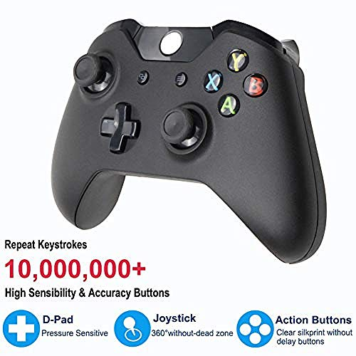 YAYY Draadloze Controller Game Joystick Computer PC Controller Controls voor Xbox One Slim Console Gamepad PC Joystick Wit (Upgrade)