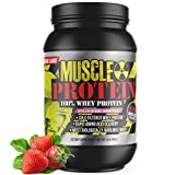 GL Colossal Labs Monster Muscle Protein (5 LB, Strawberry)