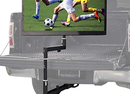 Helios Black Tailgate TV Mount for 32 in. to 55 in. Flat Screen TV's