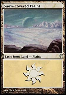 Magic: the Gathering - Snow-Covered Plains - Coldsnap - Foil
