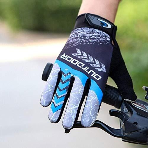 Guantes de invierno para bicicleta MTB, guante de ciclismo, resistente a altas temperaturas, bicicleta de montaña, cálido, antideslizante, protector solar, guantes de motocicleta al aire libre-a13-XL