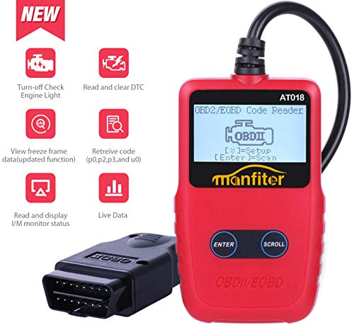 Wireless OBDII Vehicles Code Readers /& Scan Tools ATDIAG Car WIFI OBD2 Scanner