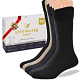 Specialized Socks Diabetic Socks for Men - Premium Quality -'sooo Comfortable''These are Great Non Binding Socks' - Soft and Extremely Comfortable.